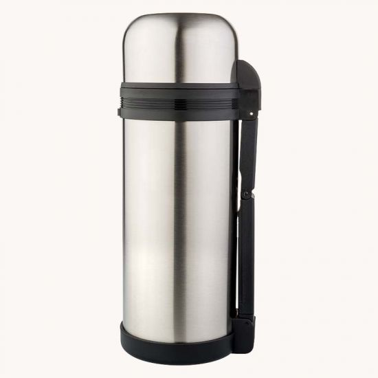 Фото — Biostal Wide-mouth vacuum flasks, NG-1800-1, Серебристый