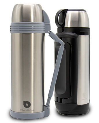 Wide-mouth vacuum flasks